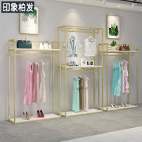 Clothing display rack Gold length 60, height 240, gold length 120, height 190, gold length 150, height 190, gold length 120, height 240, gold length 150, height 240, gold triangle 120, height 190, gold triangle 150, height 190, gold triangle 60, height 190 A01 Impression of Baifa Official standard