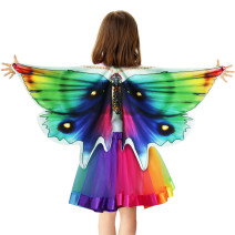 Clothes & Accessories Special ABC party 2-piece set, 3-piece set Halloween children Wing Cape nothing