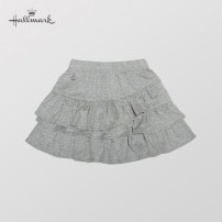 skirt 80 / 1-1.5 years old 90 / 1.5-2 years old 100 / 2-3 years old 110 / 4-5 years old 120 / 6-7 years old 130 / 7-8 years old grey Hallmark female Cotton 100% skirt Splicing style Pure cotton (100% cotton content) HD1Y1003KGMG