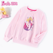 Sweater / sweater Barbie / Barbie Pink, purple, blue female 110cm,120cm,130cm,140cm,150cm,160cm spring and autumn nothing princess Socket routine No model cotton Cartoon animation Cotton 100% BA1141 Class B