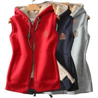 Vest Spring of 2018 S,M,L,XL,2XL,3XL,4XL routine Hood Versatile Solid color zipper I-shaped Other / other 91% (inclusive) - 95% (inclusive) cotton