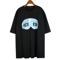 T-shirt Average size Summer 2020 Short sleeve Crew neck easy Regular routine street cotton 51% (inclusive) - 70% (inclusive) 18-24 years old originality Cartoon animation printing Europe and America