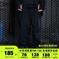 Casual pants 5cm Youth fashion S M L XL trousers Other leisure easy winter youth tide 2018 Little feet Polyamide fiber (nylon) 93% polyurethane elastic fiber (spandex) 7% Overalls Solid color Winter of 2018 Same model in shopping mall (sold online and offline)