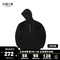 T-shirt / sweater 5cm Youth fashion Black/BKX S M L XL Socket Cap Long sleeves 5CXKNS4114W8B winter easy 2018 Viscose (viscose) 69.9% polyester 30.1% leisure time tide youth routine Winter of 2018 Same model in shopping mall (sold online and offline)