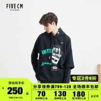 Sweater Youth fashion FIVE cm BKX / Black PPX / Purple S M L XL other Socket Cotton 100% Winter of 2019 Same model in shopping mall (sold online and offline)