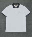 Polo shirt Other / other Fashion City routine Light blue, white S,M,L,XL,2XL Self cultivation business affairs summer Short sleeve