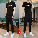 Leisure sports suit summer S,M,L,XL,2XL,3XL,4XL,5XL Short sleeve Other / other trousers teenagers T-shirt other