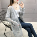 Wool knitwear Spring 2020 S M L XL Grey Khaki purple Long sleeves singleton  Cardigan other More than 95% Medium length Thin money commute easy V-neck routine Solid color ML-6097FF-30 25-29 years old mollie  Button Other 100% Pure e-commerce (online only)