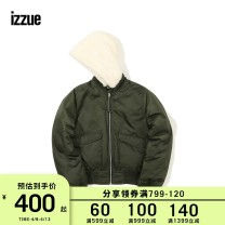 short coat Winter of 2018 XS S M KHD / Army Green RDD / red BKX / Black Long sleeves routine routine singleton  easy routine Hood zipper izzue 96% and above IZXJKJ7198W8B nylon Polyamide fiber (nylon) 100% Same model in shopping mall (sold online and offline)