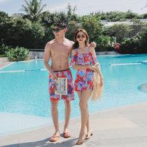 Couple swimsuit Qihai M,L,XL,XXL,XXXL,4XL Men's, women's other currency