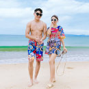Couple swimsuit Qihai M,L,XL,XXL,XXXL,4XL Men's, women's 63022 lovers other currency
