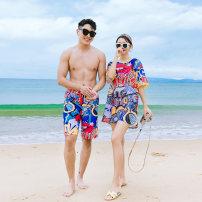 Couple swimsuit Qihai M,L,XL,XXL,XXXL,4XL Men's, women's 63022 lovers other currency