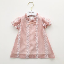 Dress goods in stock female Other / other 73cm,80cm,90cm,100cm,110cm,120cm,130cm Cotton 80% other 20% summer cotton other 12 months, 6 months, 9 months, 18 months, 2 years old, 3 years old, 4 years old, 5 years old