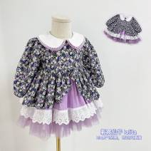 Dress goods in stock female Other / other 1, 80cm, 2, 90cm, 3, 100cm, 4, 110cm, 5, 120cm Cotton 80% other 20% summer cotton Fluffy skirt 3 months, 12 months, 6 months, 9 months, 18 months, 2 years old, 3 years old, 4 years old, 5 years old, 6 years old