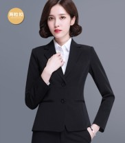 Professional pants suit S,M,L,XL,2XL,3XL,4XL Winter of 2018 loose coat Long sleeves trousers Other / other 18-25 years old