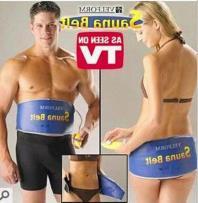 Electronic slimming belt / Slimming Belt Other / other See description Blue sauna belt