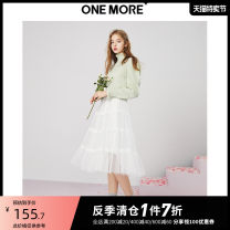 skirt Spring 2020 155/62A/XS 160/66A/S 165/70A/M 170/74A/L White presale 1 white presale 2 Mid length dress commute High waist A-line skirt Solid color Type A 25-29 years old 11GB017205-169651 More than 95% one more polyester fiber Simplicity Polyester 100%