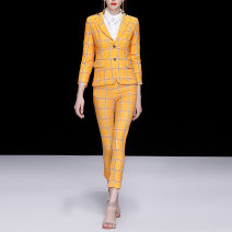 Fashion suit Spring of 2019 S,M,L,XL yellow 25-35 years old DIDABOLE 51% (inclusive) - 70% (inclusive)