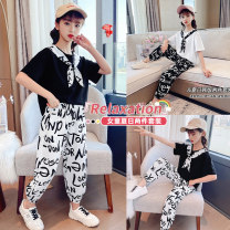 suit Other / other female summer leisure time Short sleeve + pants 2 pieces Thin money There are models in the real shooting Condom No detachable cap printing other children Shopping 65214 Class B Other 100% 14, 3, 5, 9, 12, 7, 8, 6, 13, 11, 4, 10 Chinese Mainland Huzhou City Zhejiang Province