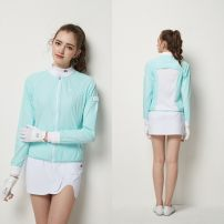 Golf apparel White, light green S,M,L,XL,XXL female BG Windbreaker BG21011