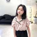 shirt Decor Send sauce female 7(100),9(110),11(120),13(130),15(140),17(150),19(160) summer Long sleeves Korean version lattice other Other 100% Class B