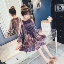 Dress Light gray (spring and Autumn) off white (lace skirt) female Love and beauty Other 100% spring and autumn Korean version Long sleeves other flannelette other Class B Autumn 2020 Five, six, seven, eight, nine, ten, eleven, twelve Chinese Mainland Zhejiang Province