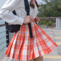 student uniforms Spring 2020 42cm (bow tie + airplane box + skirt clip + famous tie), 45cm (bow tie + airplane box + skirt clip + famous tie) XS,S,M,L,XL solar system polyester fiber 91% (inclusive) - 95% (inclusive)