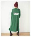 Dress Autumn 2020 Brown, dark green, black M