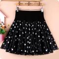 skirt Spring 2021 S,M,L,XL,2XL,3XL,4XL Short skirt High waist A-line skirt Splicing