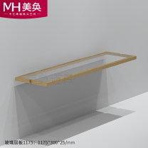 Clothing display rack Wall frame (1200 * 300 * 25MM), floor frame (single), floor frame (double), floor frame (three), glass laminate clothing stainless steel MH-SQJ010 Beautiful props Official standard