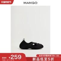 Socks / base socks / silk socks / leg socks female MANGO S/S M/M L/L Mint Green Black 1 pair routine Spring 2021 Polyester 100% Same model in shopping mall (sold online and offline)