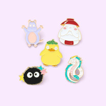 Brooch Alloy / silver / gold RMB 1.00-9.99 Other / other brand new goods in stock other female Fresh out of the oven Not inlaid Bear / pig / animal