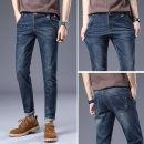 Jeans Fashion City Gebotoo / geboto 27 28 29 30 31 32 33 34 36 Black blue routine Micro bomb GBT-Q6JJ1Y8GR25 trousers Cotton 74.9% polyester 23.7% polyurethane elastic fiber (spandex) 0.9% viscose fiber (viscose) 0.5% Four seasons youth middle-waisted Slim feet like a breath of fresh air 2021 zipper