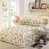 Bed skirt cotton Other / other Plants and flowers Qualified products UVI8160