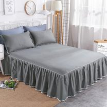 Bed skirt cotton Other / other Plants and flowers Qualified products HCF3689