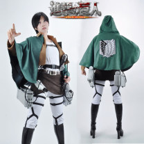 Cosplay men's wear suit Customized Akiba1st Over 14 years old XXS, XS, s, m, l, XL, XXL, XXXL, children s, children L, customized comic Average size Japan the attacking J517Titan Otaku Eren Jaeger