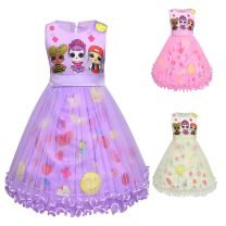 Dress 8932 purple, 8932 light yellow, 8932 Pink female Other / other 100cm, 110cm, 120cm, 130cm, 140cm, 100-140 5 pieces per hand, please take 5 pieces Other 100% summer princess Cartoon animation 12, 2, 3, 4, 5, 6, 7, 8, 9, 11, 10 Chinese Mainland Guangdong Province