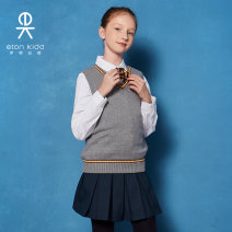 skirt 110cm 120cm 130cm 140cm 150cm 160cm 165cm 170cm 175cm 180cm 190cm Eton Kidd / Eton Kidd female Other 100% spring and autumn skirt college Solid color Pleats other