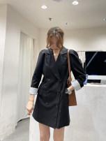 Dress Summer 2021 Black, Khaki Average size