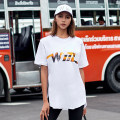 Sports T-shirt WATASHO MODE S,L,M Short sleeve female Crew neck WM1805T00039 White, gray, black easy Moisture absorption and perspiration, quick drying, super light, breathable, elastic Summer of 2018 pattern Sports & Leisure cotton