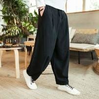 Warm top Black, Navy, red, greyish green Cotton 72% flax 28% M,L,XL,2XL,3XL,4XL,5XL Other / other other Pants 57 12 months, under 1 year old