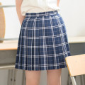 skirt Summer of 2019 XS,S,M,L,XL Short skirt Sweet High waist Pleated skirt lattice Type A 18-24 years old 91% (inclusive) - 95% (inclusive) Fold, pocket, zipper 301g / m ^ 2 (including) - 350g / m ^ 2 (including) solar system