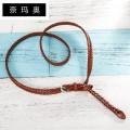 Belt / belt / chain top layer leather Army green sky blue Chocolate Orange female belt motion Pin buckle alone Namao 105cm 110cm 115cm 120cm 125cm Spring and summer 2011