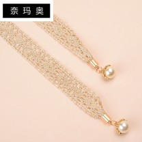Belt / belt / chain other female Waist chain Sweet Single loop Middle aged youth bow Glossy surface 1.5cm weave Namao 1cm Spring and summer 2011