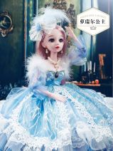 Doll / accessories 2, 3, 4, 5, 6, 7, 8, 9, 10, 11, 12, 13, 14 years old Ordinary doll Other / other China < 14 years old A842 a doll Fashion pvc  other nothing A842