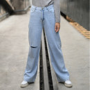 Jeans Summer 2020 Light blue L,XL trousers High waist routine Make a wish 96% and above