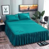Bed skirt 180cmx200cm single bed skirt, 180cmx220cm single bed skirt, 150cmx200cm single bed skirt, if you need pillow case, please contact customer service, 200cmx220cm single bed skirt cotton Other / other Solid color First Grade