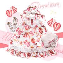 Lolita / soft girl / dress Felinaecookie White, black, white clip, black clip, white collar (5-day delivery), black collar (5-day delivery) F / average size summer Pre sale Lolita