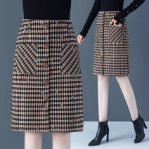 skirt Autumn 2020 26 27 28 29 30 31 32 33 Check pattern Mid length dress commute High waist A-line skirt lattice Type A 25-29 years old GFSDBXCXNHFGRE2861 51% (inclusive) - 70% (inclusive) other Metzgono polyester fiber Korean version Pure e-commerce (online only)