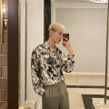 shirt Youth fashion Others M,L,XL Black, green routine square neck Long sleeves easy Other leisure spring youth Exquisite Korean style 2021